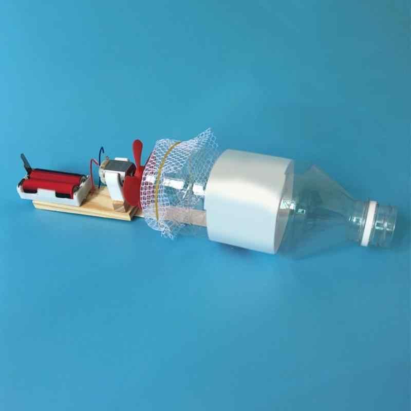 Percobaan Ilmiah DIY Vacuum Cleaner Dirakit Teka-teki Pendidikan Lucu Mini Model Awal Belajar Mainan untuk Anak Anak