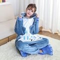 One Piece Pajamas Flannel Women Pajama Cartoon Unisex Cosplay Sleepwear Homewear Animal onsies Pijama set for Lovers Couples