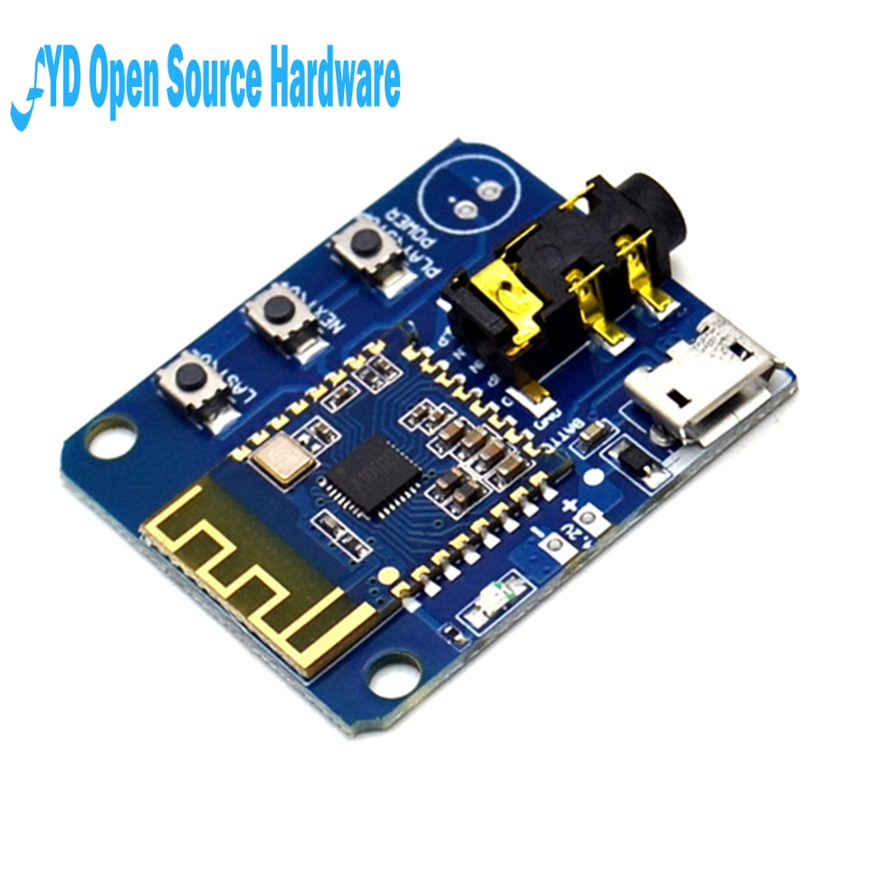1pcs JDY-64 Lossless Bluetooth Audio Module 4.2 High Fidelity HIFI Speaker Audio Earphone Power Board Modification