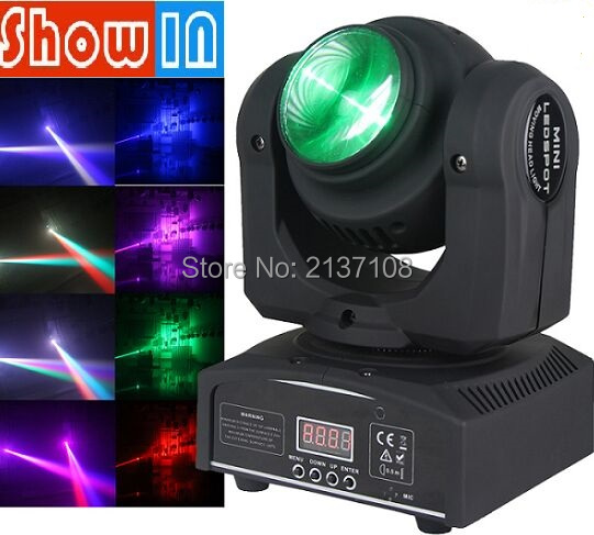 2pcs 4x10w 4in1 Rgbw Mini Led Moving Head Light Led Wash Moving Light With For Party Wedding Always Buy Good Stage Lighting Effect