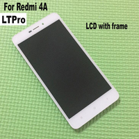 High Quality For Xiaomi Redmi 4A LCD Display Touch Screen Digitizer Assembly With Frame For Hongmi