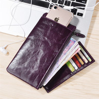 Leather Case For IPhone 6 6s 7 Plus 7 5 SE Universal Wallet Cover For Samsung