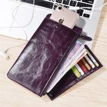 Кожаный чехол для iphone 8 7 Plus универсальный кошелек чехол для Samsung S8 сумка для под 6.0 дюймов ячейки телефон newoer