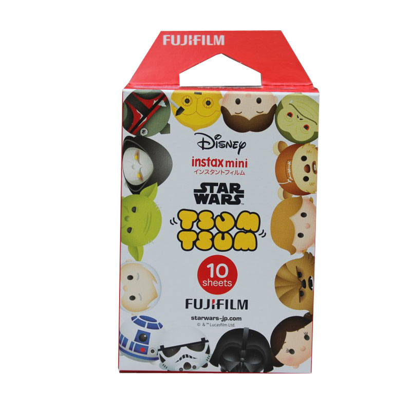 Genuine 10 Sheets Tsum Tsum Fuji Instax Film Fujifilm Instax Mini 8 Film For 9 8 50s 7s 90 25 Share SP-1 SP-2 Instant Cameras
