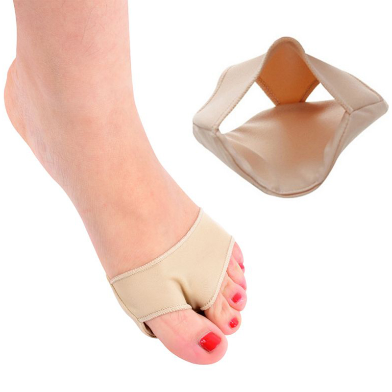 1 Pair Gel Forefoot Ball Foot Fabric Shoes Insoles Pad Insert Cushion Support FM1181