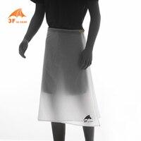 3F UL GEAR Outdoor Camping Hiking Rain Pants Lightweight Waterproof Rain Skirt Kilt 65g