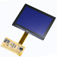 10 개 DHL 최신 버전 LCD 클러스터 디스플레이 아우디 S3 A6 폭스 바겐 VDO 디스플레이 OEM Jeager