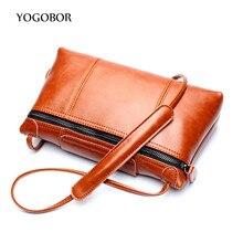 2017 fashion casual shoulder crossbody bags envelope small vintage women's handbag clutch purse leather women messenger bags