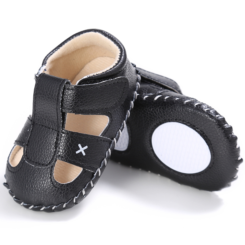 Newborn Summer Baby Boys First Walkers Shoes Rubber Sole Toddlers outdoor Sneakers For Age 0-18 M
