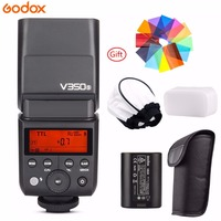Godox V350S 2.4G GN36 TTL 1/8000s HSS Speedlite with Li ion Rechargeable Battery 500 Camera Flash For Sony Fuji Olympus Camera