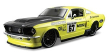Maisto 1:24 1967 Ford Mustang GT Diecast Model Car Toy New In Box Free Shipping
