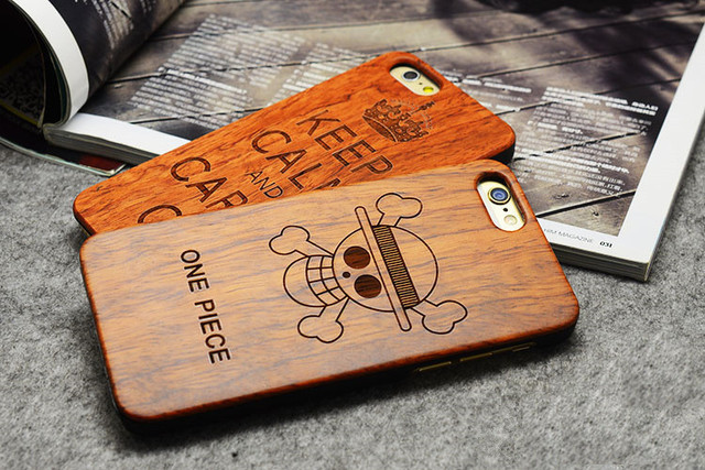 Handmade Wood Case For Iphone 5 5s 6 6s 6