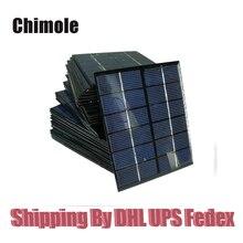 100pcs/lot Top Quality 2W 6V Solar panels solar glue plate kits 2W solar celles DIY solar charger kits136*110mm