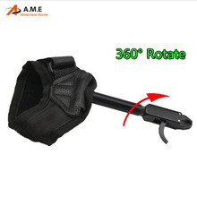On sale Archery Arrows and Bow Release Compound Bow Caliper Release 360 degree Hunting Bow Release for Shooting Outdoor Sport Hunting