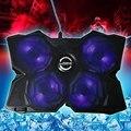 CoolCold Льда Четыре USB 2.0 Поклонники Ноутбуков PC База Охлаждения площадку Кулер С Подставкой Радиатор для Портативного Компьютера периферия
