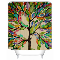 Shower Curtains Tree of Life Eco Friendly Shower Curtains Bathroom Curtain Waterproof Bathroom Products Bath Screen