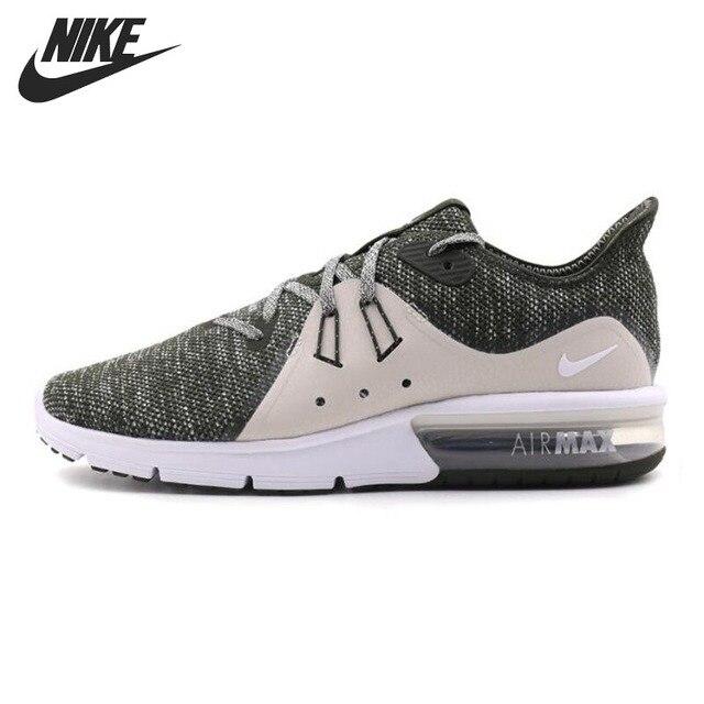 size 40 fe6af d2ad0 Novedad Original 2018 NIKE Air Max Sequent 3 zapatillas de correr para  hombre