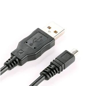 Image 4 - USB כבל נתונים מצלמה נתונים תמונות וידאו סנכרון העברת כבלי 8pin 150cm עבור ניקון אולימפוס Pentax Sony Panasonic Sanyo