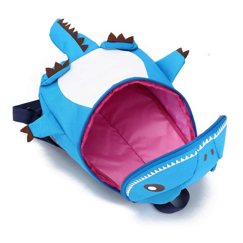 Опрятный детская школьная сумка 3D динозавр рюкзак для мальчиков Дети рюкзаки Детский сад небольшой школьный для девочек милые животные rucksac