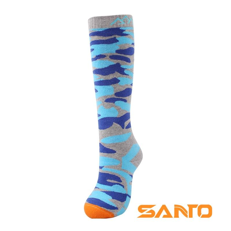 Prix pour Santo s035 hommes/femmes genou-haute extérieure garder au chaud respirant sport montagne randonnée ski vélo chaussettes une paire