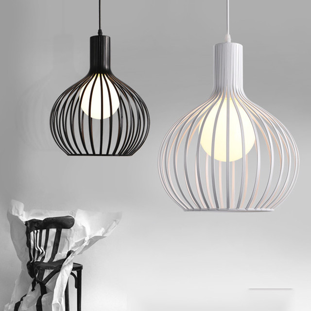 cage lighting. free shipping modern pendant lamp cage light fixture suspension lighting lamps diameter 2428