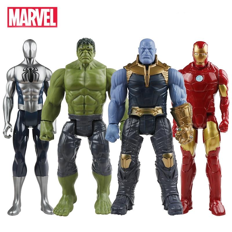 30 cm Hasbro Marvel The Avengers Spielzeug Unendlichkeit Krieg Thanos Hulk Buster Spiderman Iron Man Captain America Thor Action Figur puppen