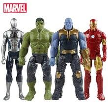 Figura de 30 cm de Marvel Avengers, Thanos, Hulk, Spiderman, Ironman, Capitán América, Thor y más