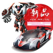 new deformation vehicle TT681 rc car 2 4Gh voice Remote Control racing car One key deformation