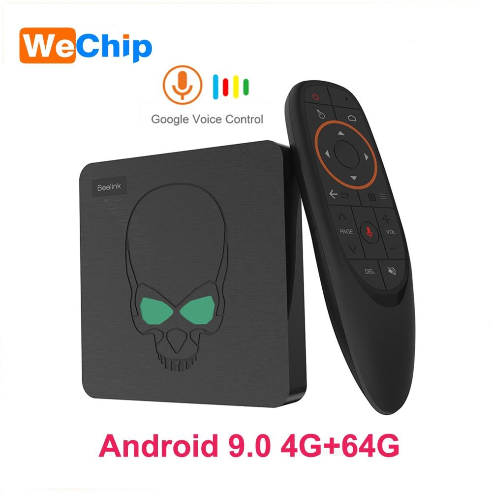 Original GT King Android 9.0 TV Box LPDDR4 4G 64G Voice Remote S922X Quad-core 2.4G&5.8G Wifi 1000M BT 4.1 VP9 4K Set Top BoxOriginal GT King Android 9.0 TV Box LPDDR4 4G 64G Voice Remote S922X Quad-core 2.4G&5.8G Wifi 1000M BT 4.1 VP9 4K Set Top Box