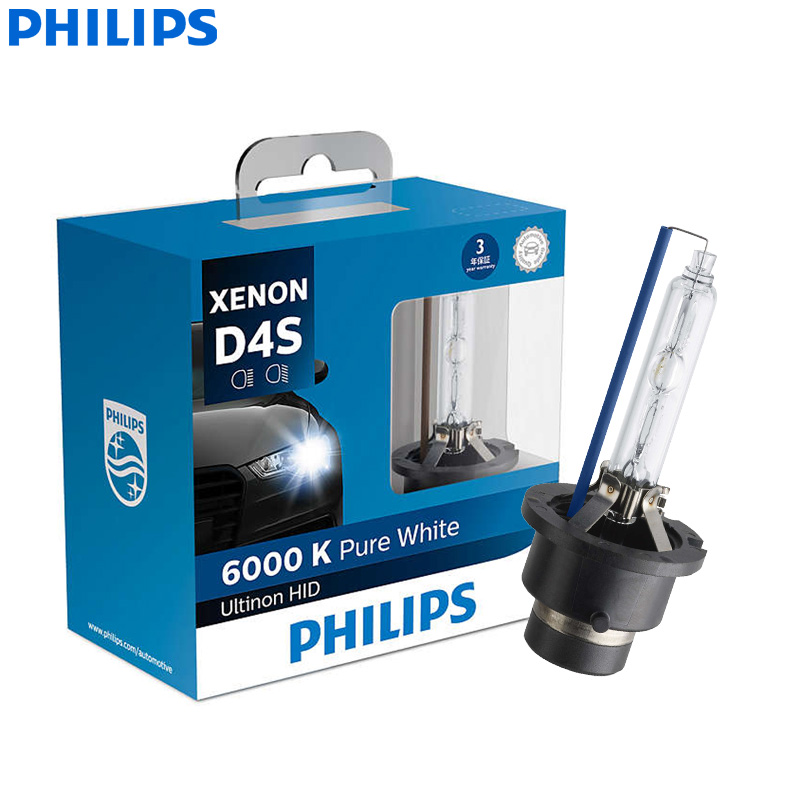 Philips Xenon HID Headlight Car-Bulb 42402WXX2 6000K Cool 35W D4S Auto-Style-Lamps Auto-Style-Lamps