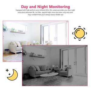 Image 5 - INQMEGA 1080P Cloud IP Camera Robot Intelligent Camera Wi fi Robot Camera Home Security Wireless CCTV Camera