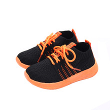 2019New Kid Running Lace-Up Sneakers Summer Children Sport Shoes  Boy Light weight Breathable Anti-Slippery Girl