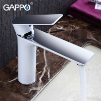 GAPPO Basin Faucet Brass Waterfall Faucet Basin Sink Mixer Deck Mounted Tub Faucets Water Sink taps crane bathtub faucet set