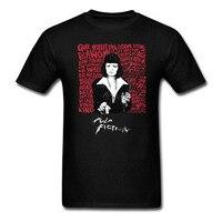 Movie Pulp Fiction Vintage T Shirt Hip Hop Printed Funny Casual O Neck Short Sleeve Tshirt