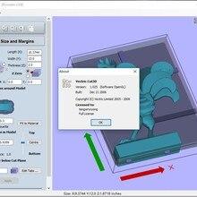 Гравировальная программа с ЧПУ Vectric Cut3D 1,025 английская версия трещины
