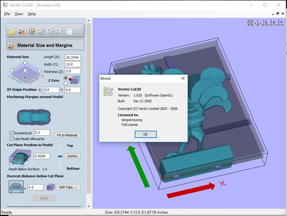 vectric vcarve pro - CNC engraving program Vectric Cut3D 1.025 English language crack version
