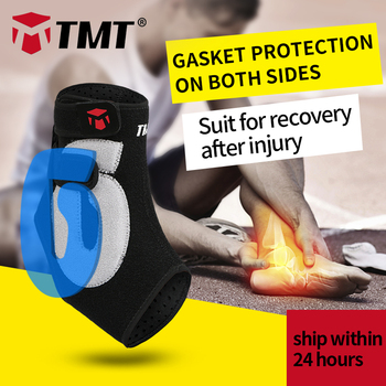 TMT Ankle Brace Koszykówka Badminton Anti Zwichnięcie Kostki Straż Elastyczne Wsparcie Football pression Bandaż Regulowany Ochrony Stóp