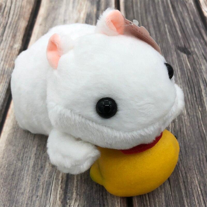 Hamster Mouse Pet Doll Plush Stuffed Animal Kawaii Baby Lovely Hamster Toys Easter For Kid Stuff Doll Children Gift Friends Toy