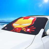 Auto Sonnenschirm Cartoon Auto Windschutzscheibe Sonnenschirm Schnee Schutz Frost Prävention Doppel-Schicht Verdickung Auto Windschutzscheibe Sonnenschirm