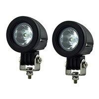 1Pcs 10W Car LED Work Light Mini Tail Auto Led Offroad Lights Fog Lamp Bulb For