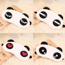 Cute Panda Sleeping Face Eye Mask Blindfold Eyeshade Traveling Sleep Eye Aid Drop Shipping Wholesale