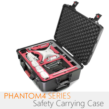 PGYTECH safety carrying case for Phantom4 Series Camera Drone Accessory Waterproof Hard EVA foam Equipment Carrying Fpv RC parts