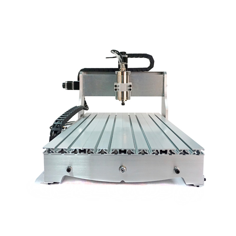 LY 6040 800W ball screw CNC Router woodworking drilling and  4axis 3axis milling machine water colling spindle ly cnc router 6090 l 1 5kw 4 axis linear guide rail cnc engraving machine for woodworking