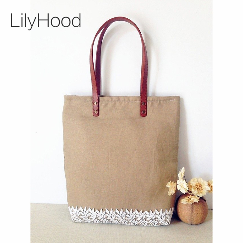 Online Get Cheap Jute Tote Bags with Leather Handles -Aliexpress ...