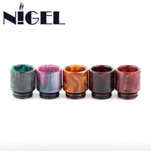 Nigel Epoxy Resin Drip Tip VapeCigarette Accessory Wide Bore Drip Tips For TFV8 Atomizer Tank Goon