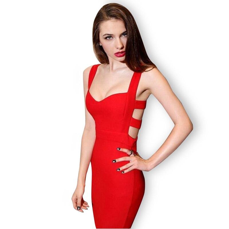 Hot Sales 2016 Summer New Sexy Women Bodycon Bandage Dress -2239