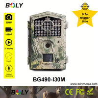 Boly 30MP hunting camera 100ft 850nm night vision trail cameras photo trap scouting wild bucks moose game cameras