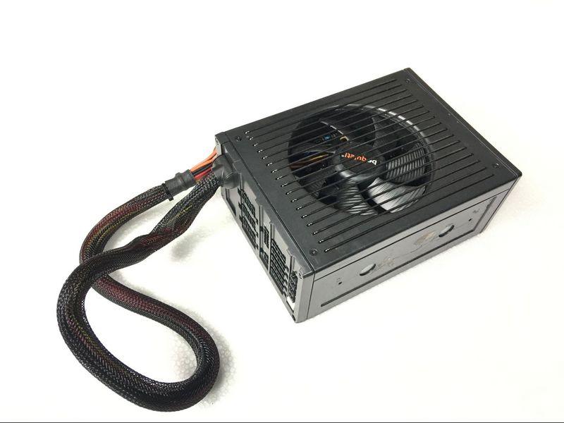 80 Gold Certified P9 series rated 650W power supply module Deluxe Desktop quiet fan