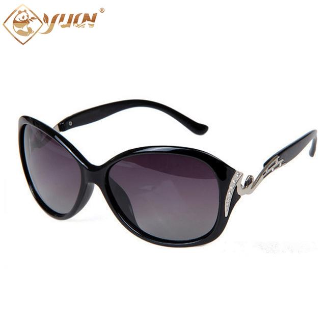 Venda de luxo Hot mulheres óculos polarizados óculos de condução e pesca óculos de sol da moda óculos de sol para senhoras das mulheres do sexo feminino shades 5118