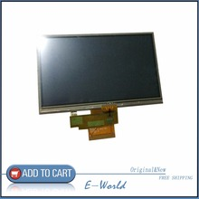 "Original 5"" inch For TomTom VIA 135 GPS LCD display screen with touch screen digitizer panel free shipping,GPS LCD"